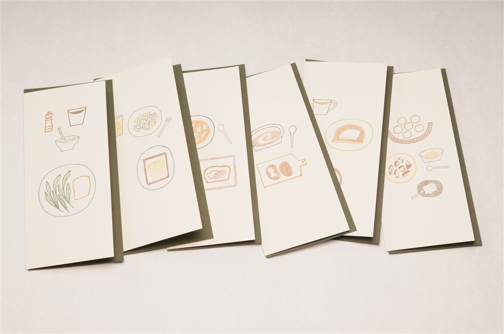 すべての折り紙 折り紙 えんぴつ : 倉敷意匠 レシピカード パンの ...
